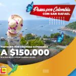 Términos y condiciones Pasea por Colombia con San Rafael